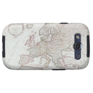 Map of Europe 7 Samsung Galaxy S3 Case