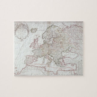 Map of Europe 7 Jigsaw Puzzle