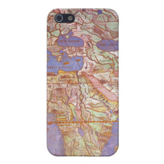 Map of Europe and Africa iPhone 5 Cases