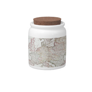 Map of Europe Candy Dish