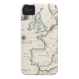 Map of Europe iPhone 4 Cover