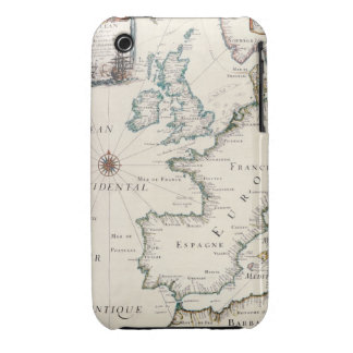 Map of Europe iPhone 3 Case