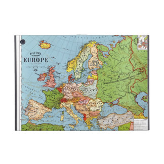 Map of Europe Cover For iPad Mini