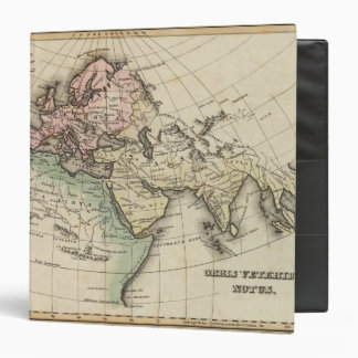 map of Europe, Northern Africa and Southeast Asia Binders