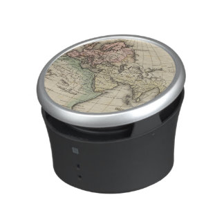 map of Europe, Northern Africa and Southeast Asia Bluetooth Speaker