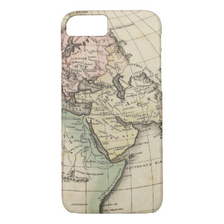 map of Europe, Northern Africa and Southeast Asia iPhone 7 Case