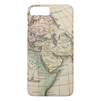 map of Europe, Northern Africa and Southeast Asia iPhone 7 Plus Case