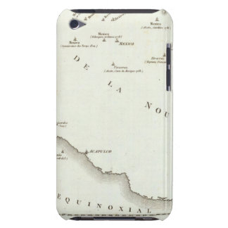 Map of false position in Mexico iPod Touch Case-Mate Case