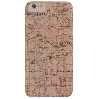 Map of Fillmore County, Minnesota Barely There iPhone 6 Plus Case