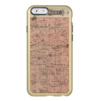 Map of Fillmore County, Minnesota Incipio Feather® Shine iPhone 6 Case