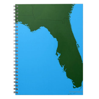 Map of Florida 2 Notebook