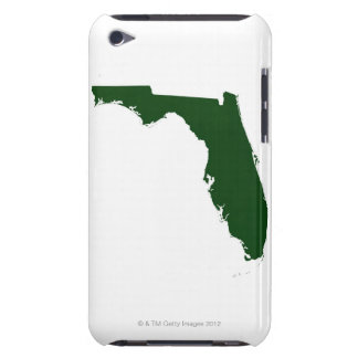 Map of Florida 3 iPod Case-Mate Case