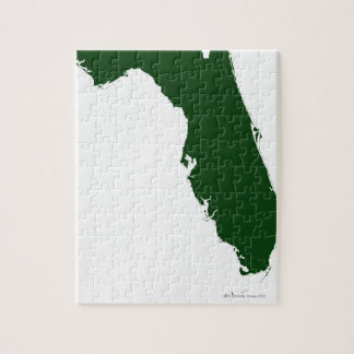 Map of Florida 3 Jigsaw Puzzles