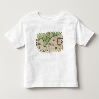 Map of Florida, from 'Brevis Narratio' T-shirt
