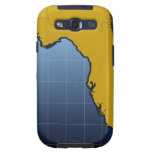 Map of Florida Galaxy S3 Case