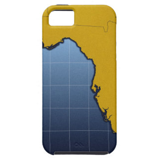 Map of Florida iPhone SE/5/5s Case