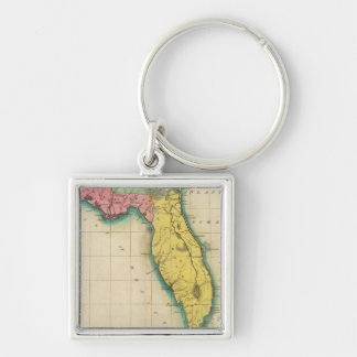 Map Of Florida Keychain