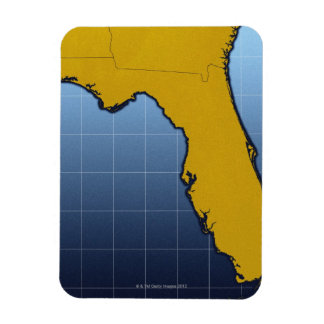Map of Florida Magnet