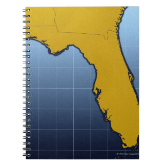 Map of Florida Notebook