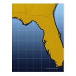 Map of Florida Postcard