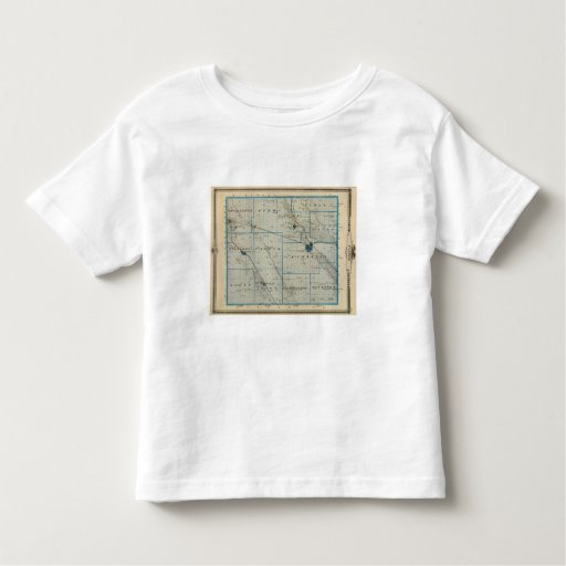 Map of Floyd County, State of Iowa Shirt