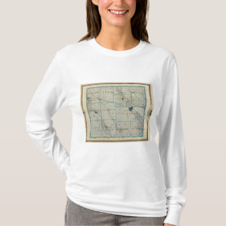 Map of Floyd County, State of Iowa T-Shirt