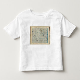 Map of Floyd County, State of Iowa Toddler T-shirt