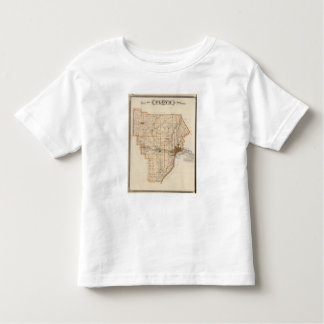 Map of Floyd County Toddler T-shirt