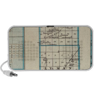 Map of Ford County and Paxton Notebook Speaker