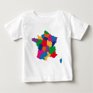 Map of France Tee Shirt
