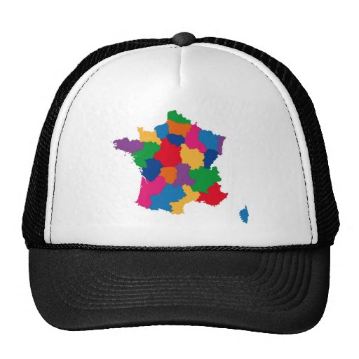 Map of France Trucker Hat