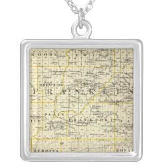 Map of Franklin and Williamson counties Pendant