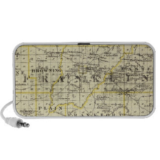 Map of Franklin and Williamson counties Laptop Speaker
