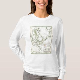 Map of German Seas T-Shirt