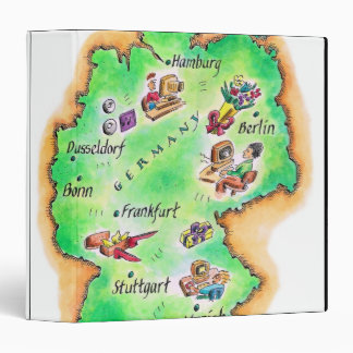 Map of Germany Binder