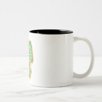 Map of Germany Two-Tone Coffee Mug