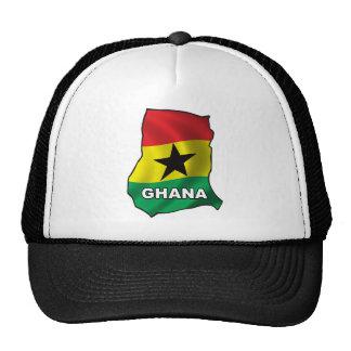 Map Of Ghana Trucker Hat