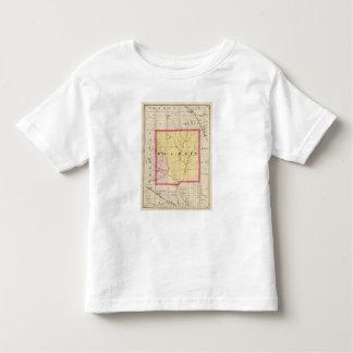 Map of Gladwin County, Michigan Toddler T-shirt