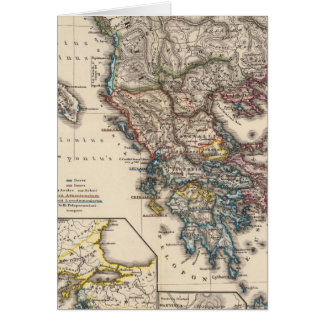 Map of Graecia, Macedonia, Thracia Card