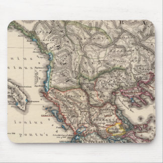 Map of Graecia, Macedonia, Thracia Mouse Pad