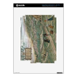 Map of Granada, from 'Civitates Orbis Terrarum', V iPad 3 Decal