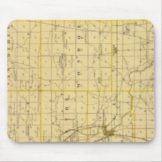 Map of Grant County Mouse Pad