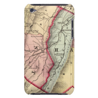 Map of Grant, Hardy counties Barely There iPod Cases