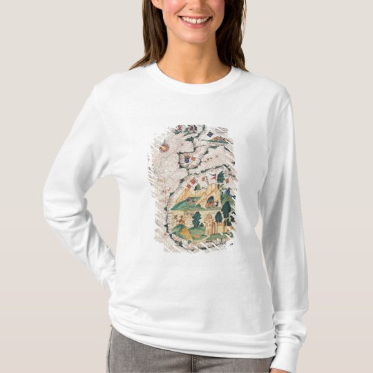 Map of Great Britain T-Shirt