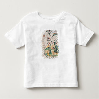 Map of Great Britain Toddler T-shirt