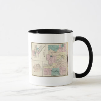 Map of Green Lake County, State of Wisconsin Mug