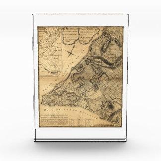 Map of Greenwich New York by John Montrésor (1766) Acrylic Award