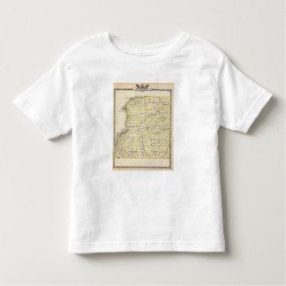 Map of Hancock County Toddler T-shirt