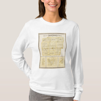 Map of Hancock County with Charlottesville T-Shirt