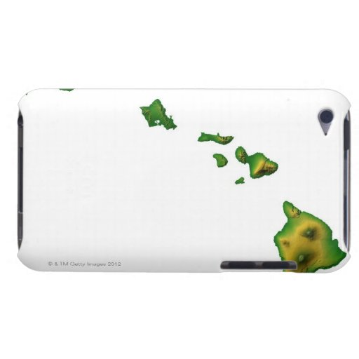 Map of Hawaii 2 Case-Mate iPod Touch Case